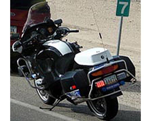 Arizona police motorcycle picture