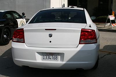 Virginia Police License Plate Image