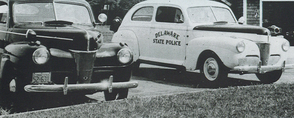 Delaware SP   State Trooper Plates