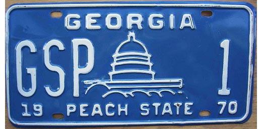 Georgia HP | State Trooper Plates