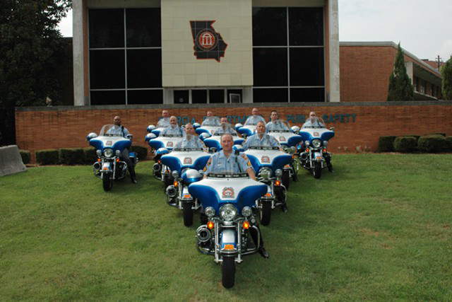 Georgia state police motorcycles