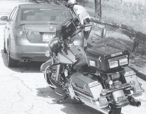 Georgia police motorcycle