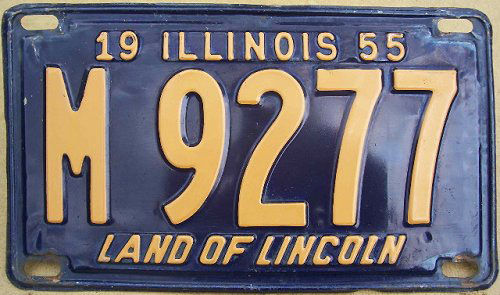 Illinois SP | State Trooper Plates