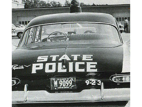 Illinois state police car