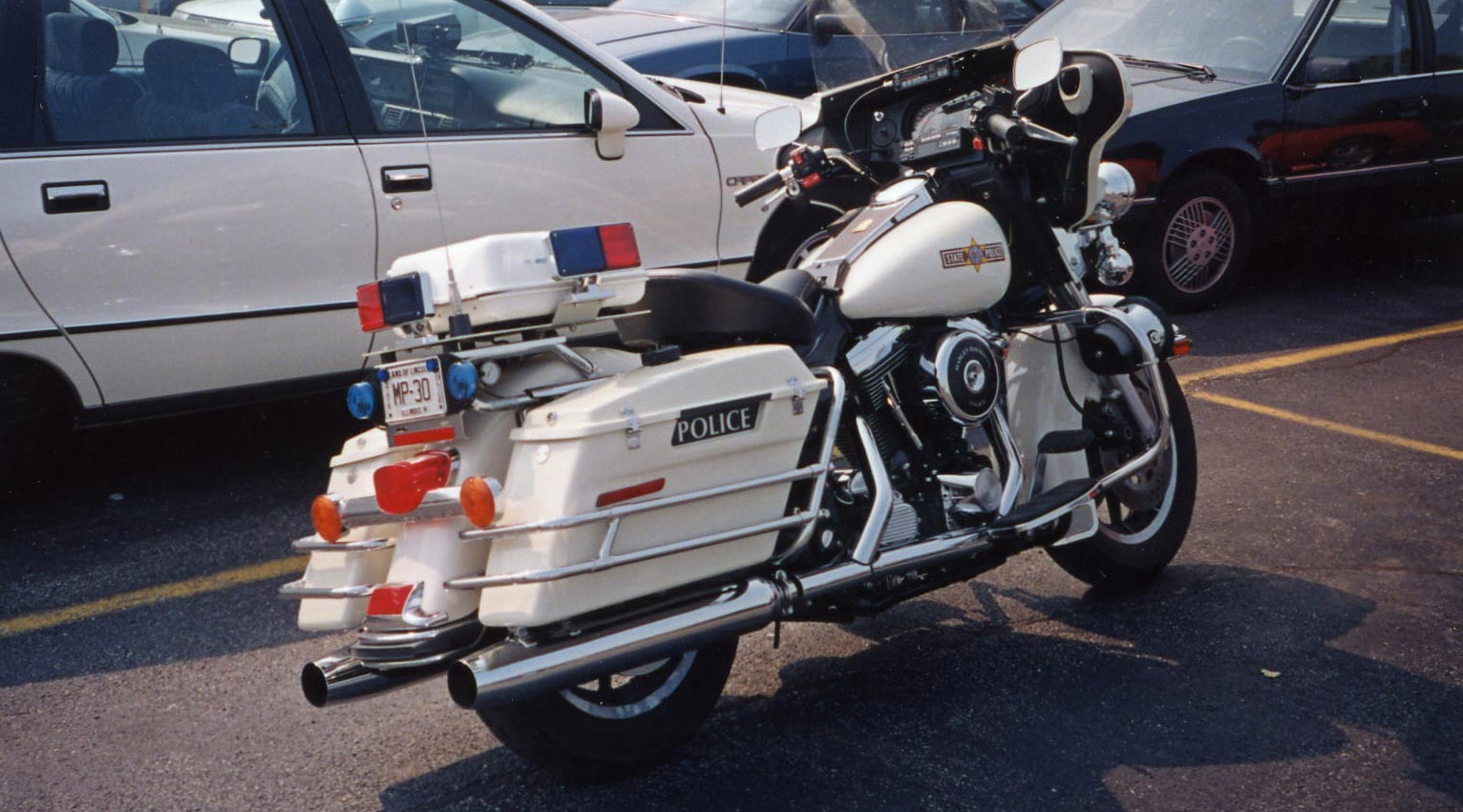 Illinois police motorcycle