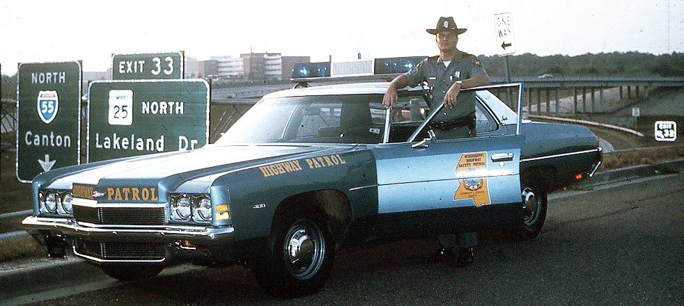Mississippi police car