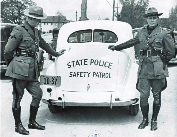 New York SP | State Trooper Plates