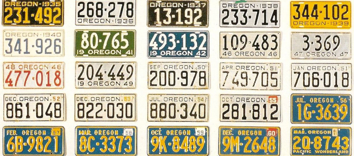 Oregon SP | State Trooper Plates