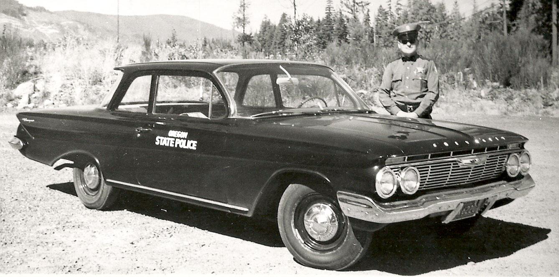 Oregon State Trooper Plates 1964 Dodge Police Car