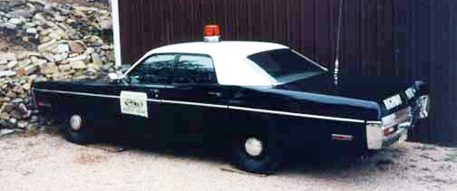 North  police license plate image