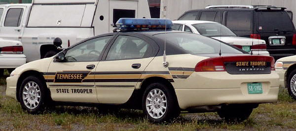 Connecticut State Police Cars