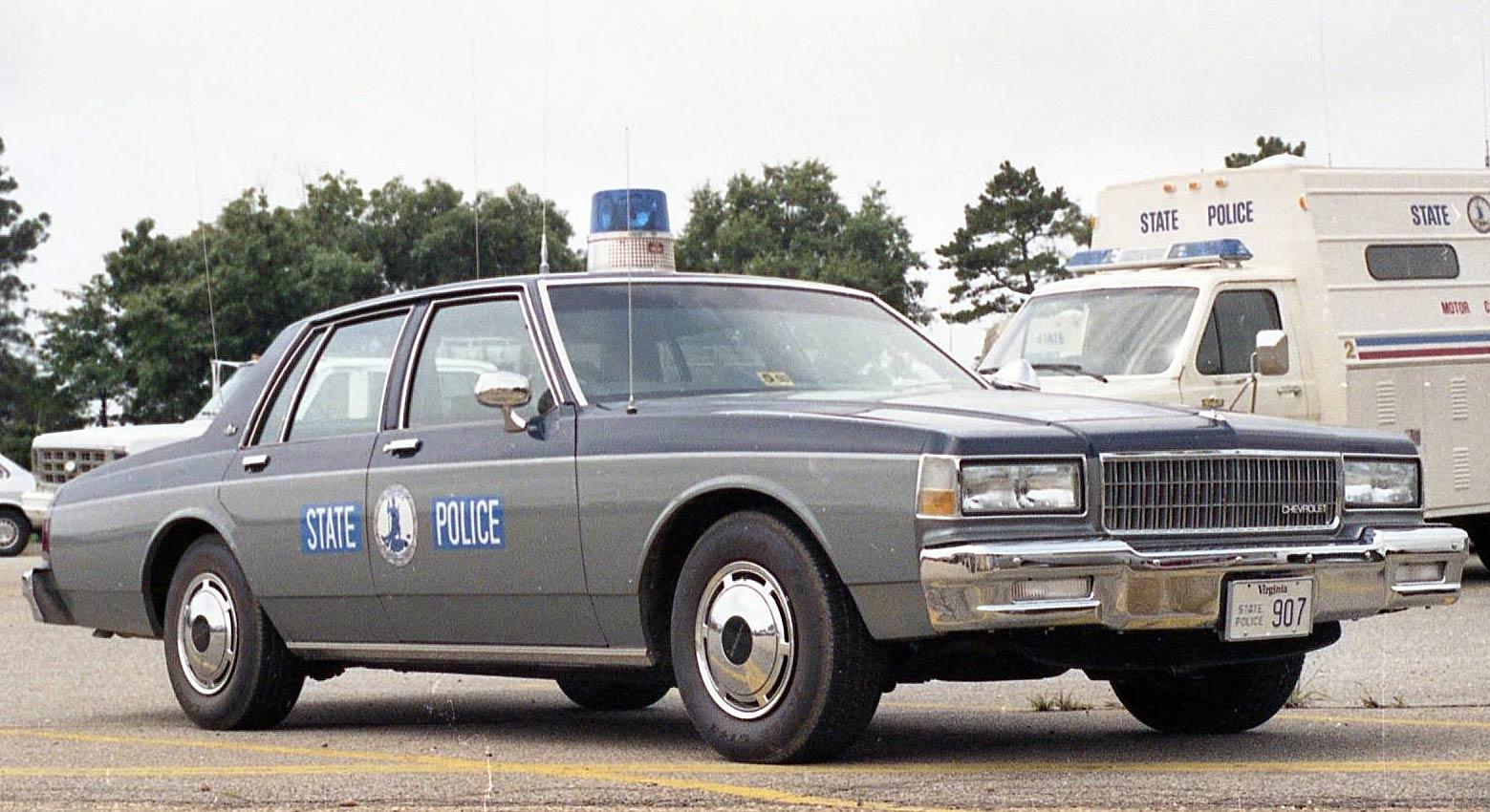 Virginia SP   State Trooper Plates