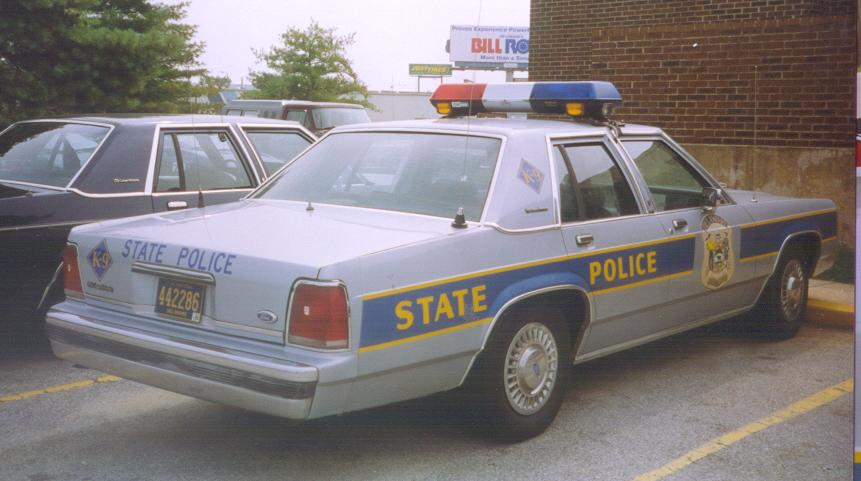Delaware SP | State Trooper Plates