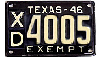 Texas HP | State Trooper Plates